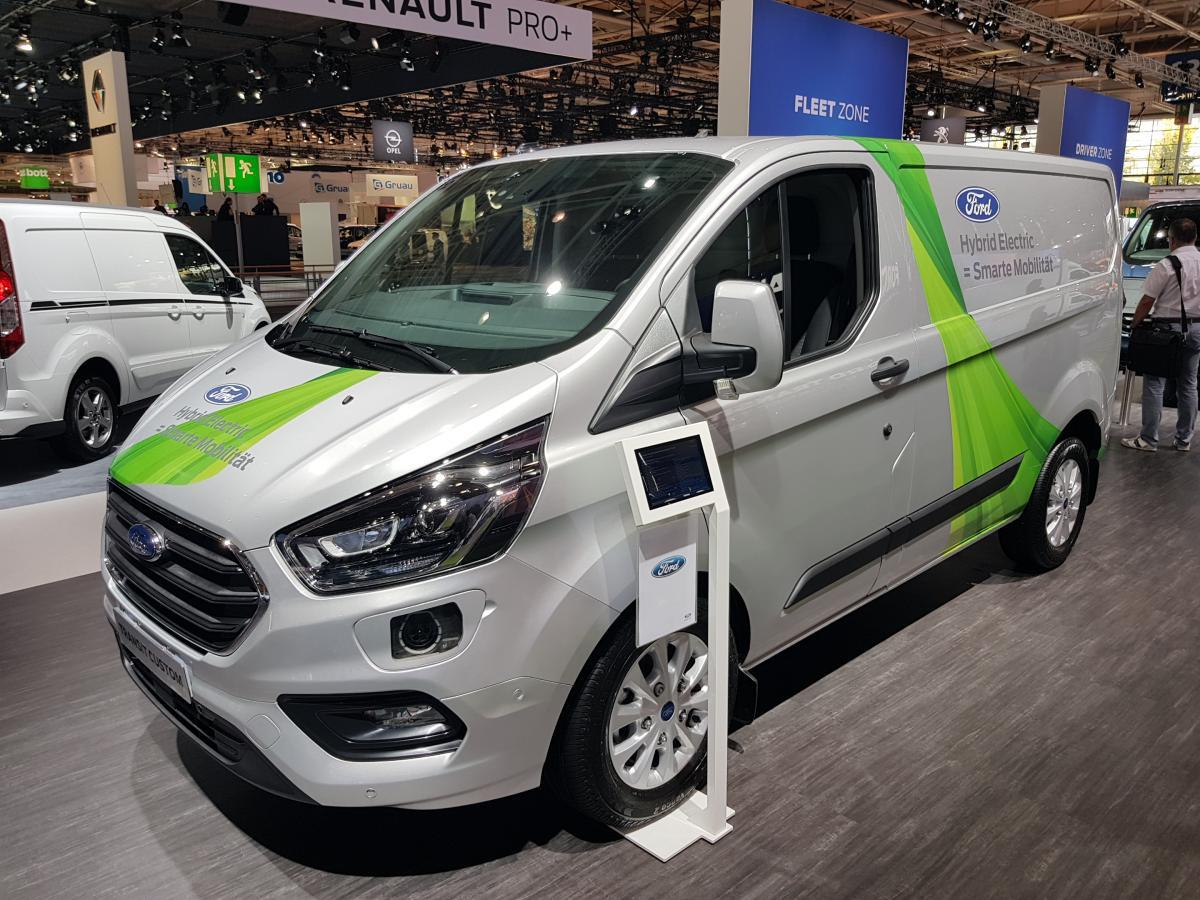IAA Hanover 2019: electric is entering the LCV mainstream | Fleet Europe