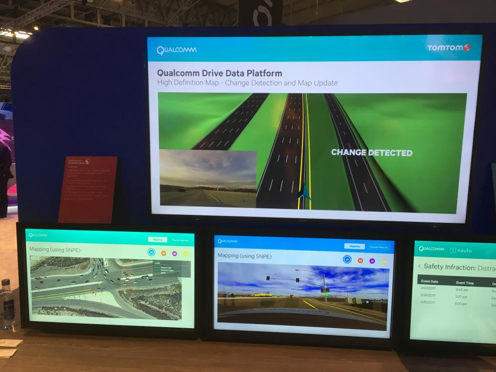 A new partnership for high quality real time map services: TomTom and Qualcomm
