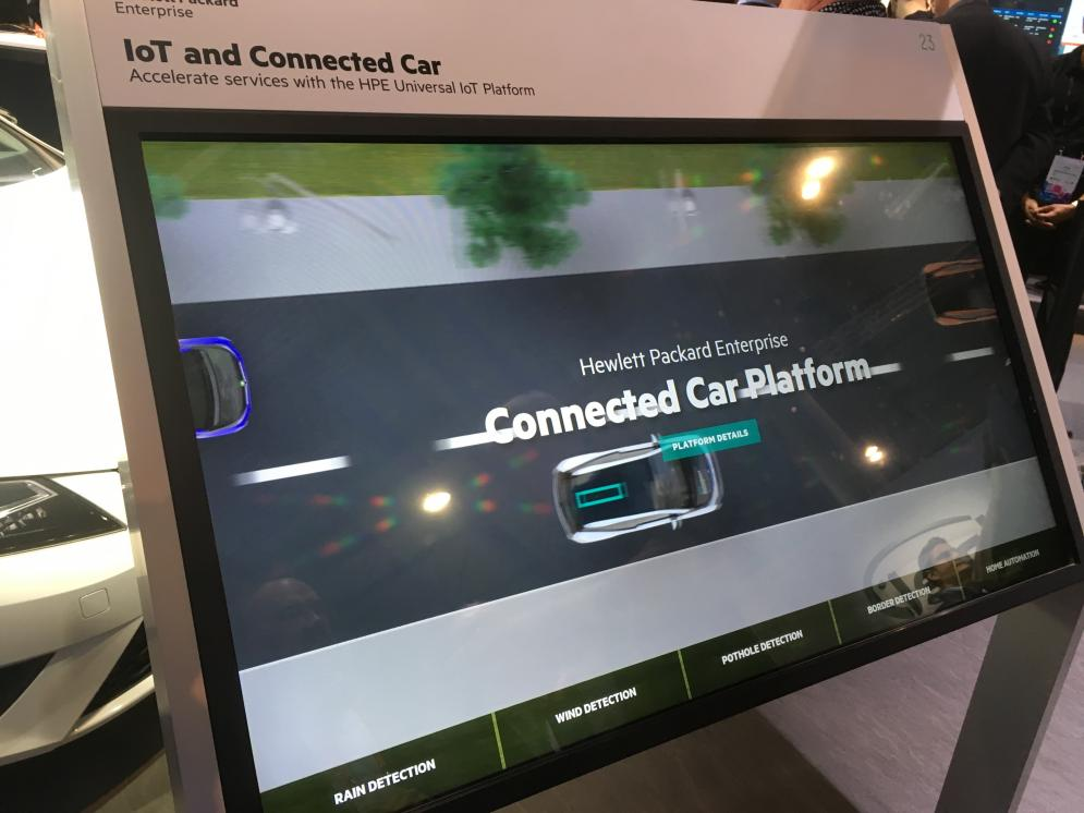 Hewlett Packard commercializes IoT and Connected Car platform to enhance driver safety and smart city development