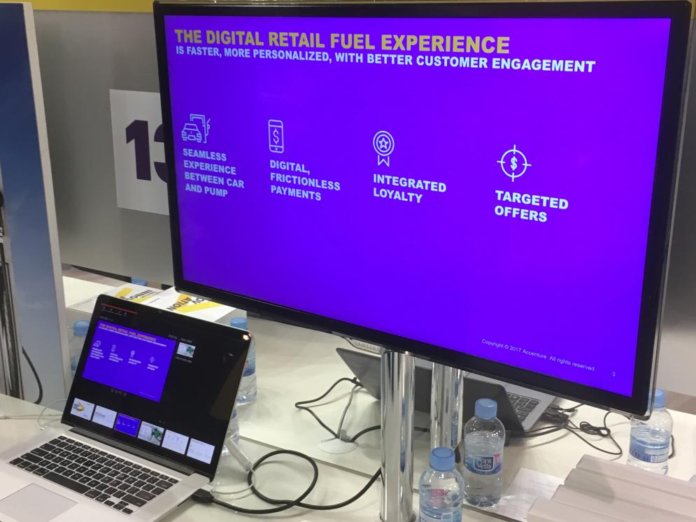 Accenture is developing a fully digital fuel management experience with a focus on user-friendliness and security.