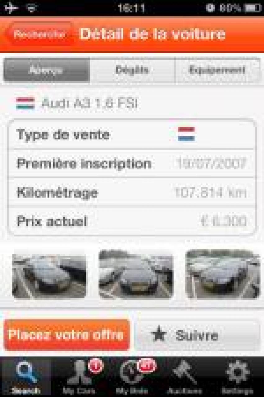Car Auction Apps >> Carsontheweb Launches Iphone App Fleet Europe
