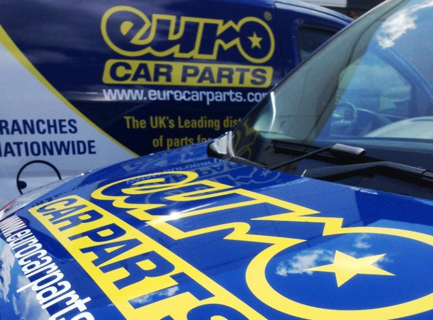 Sign Language To Livery Euro Car Parts Vans Fleet Europe