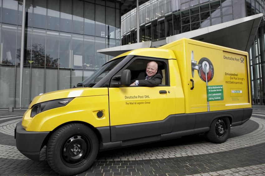 30d15ca329 Deutsche Post subsidiary StreetScooter and Ford are joining hands to  produce battery-electric delivery vehicles