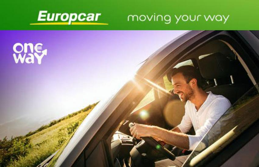 Europcar Launches 1 One Way Rentals Fleet Europe