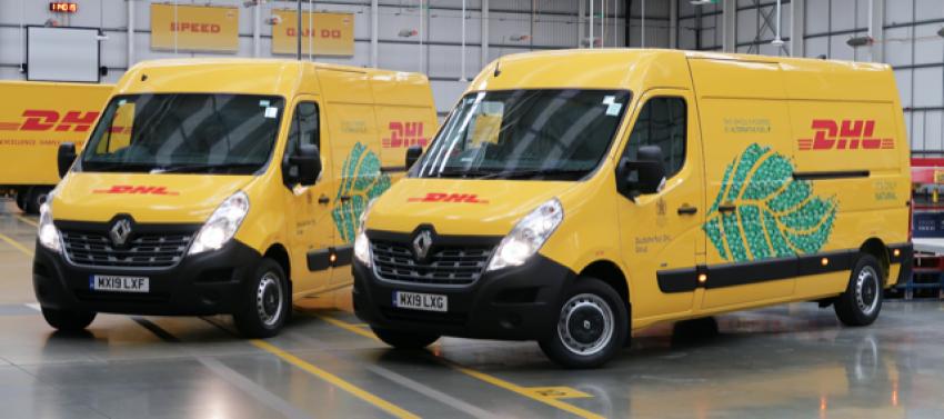 DHL introducing Renault ZE Masters EVs into its London fleet