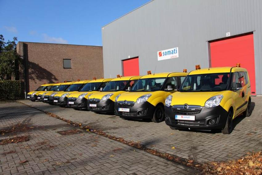 Opel delivers 45 Combo running on CNG to AWV | Fleet Europe