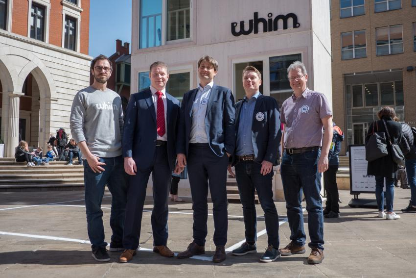 Whim launches in UK with world's smallest 3-story house