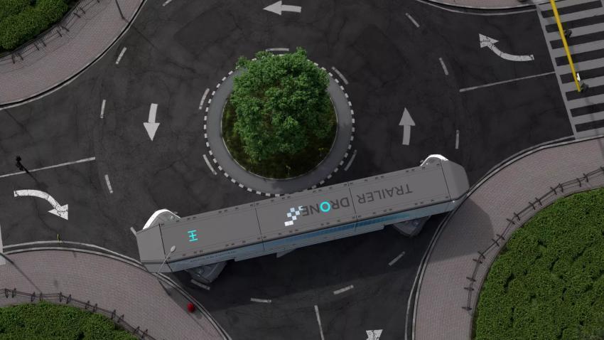 Hyundai's Trailer Drone, 2021
