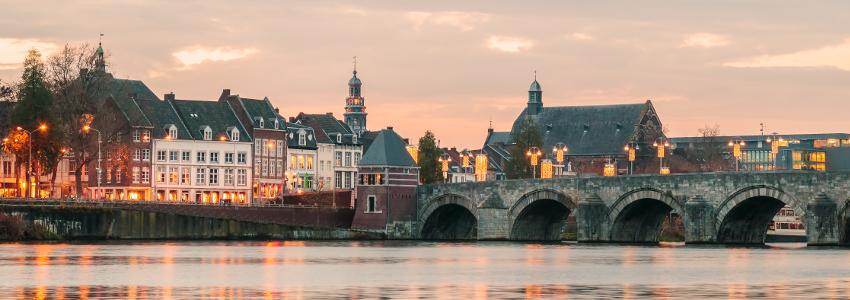 View on the city of Maastricht
