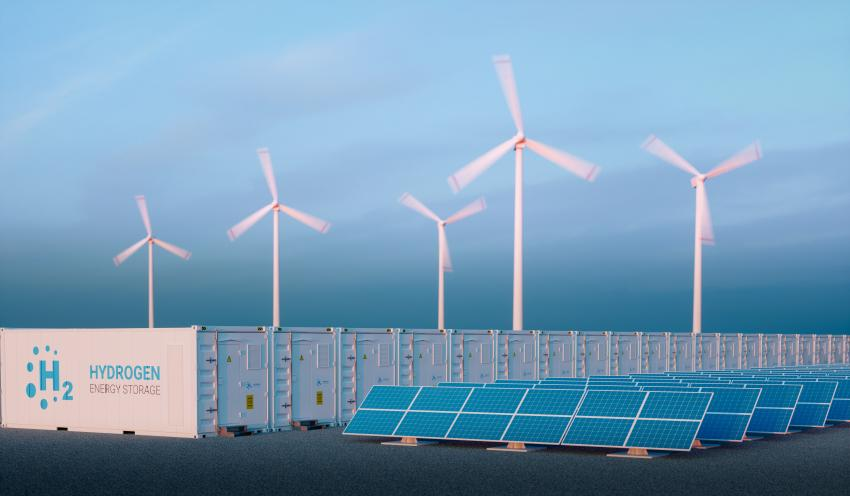 hydrogen production from wind and solar energy