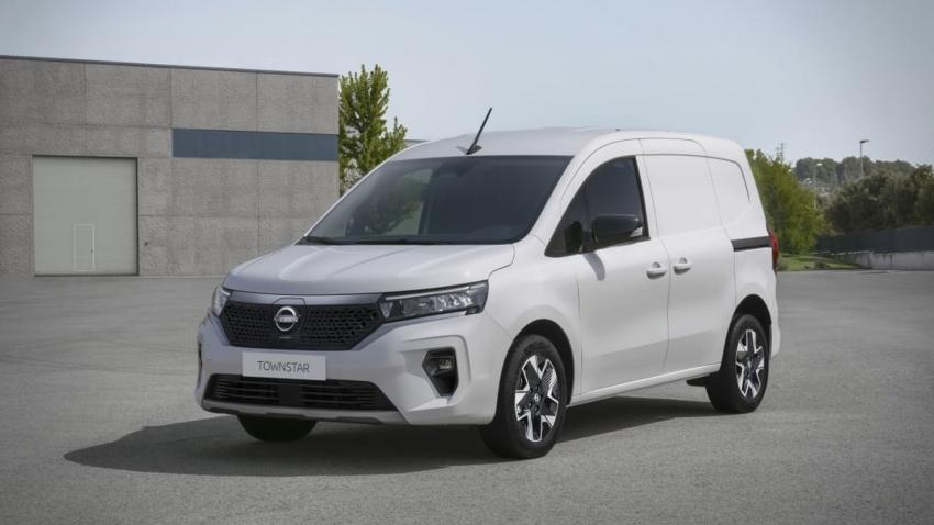 Nissan Townstar is a new addition to electric LCV's.