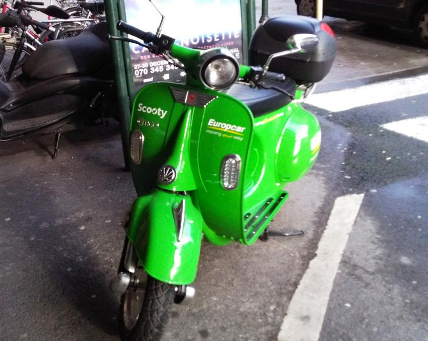 Europcar Extends Further Into Scooters Fleet Europe
