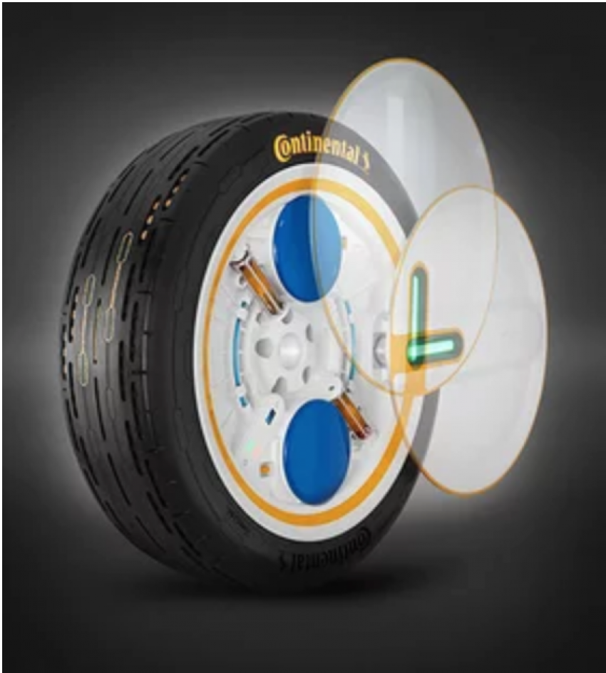 Continental's tyre management system for AV and EV fleets Conti C.A.R.E