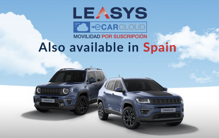 Leasys CarCloud subscription service launches in Spain
