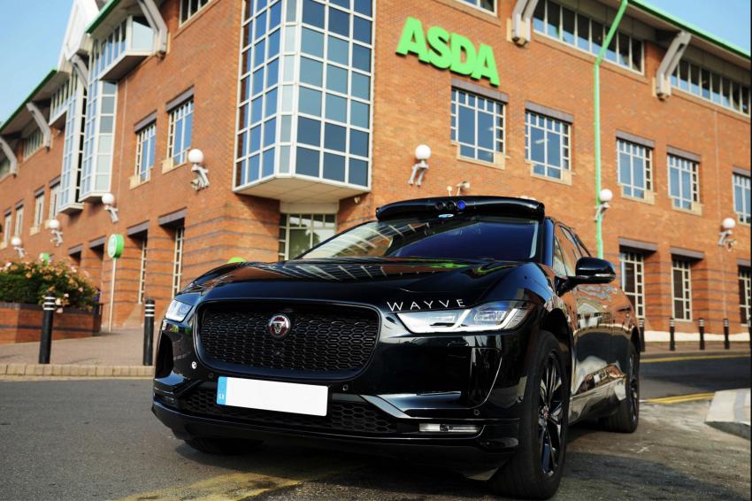 UK supermarket Asda and Wayve trial autonomous delivery