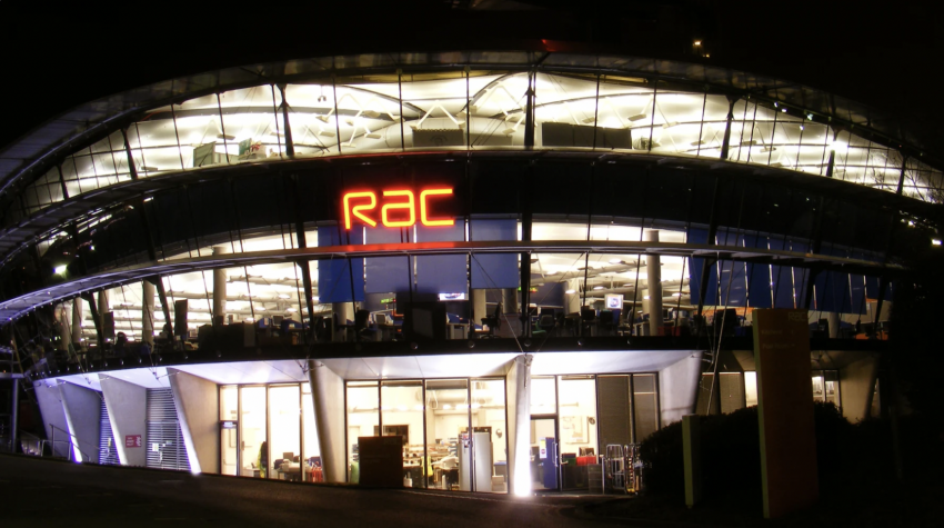 Image of the iconic RAC M6 control room