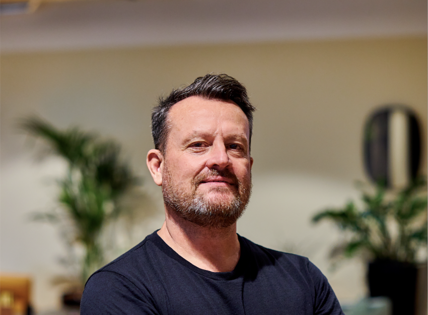 Image of Mark Musson, CEO of insurtech firm Humn