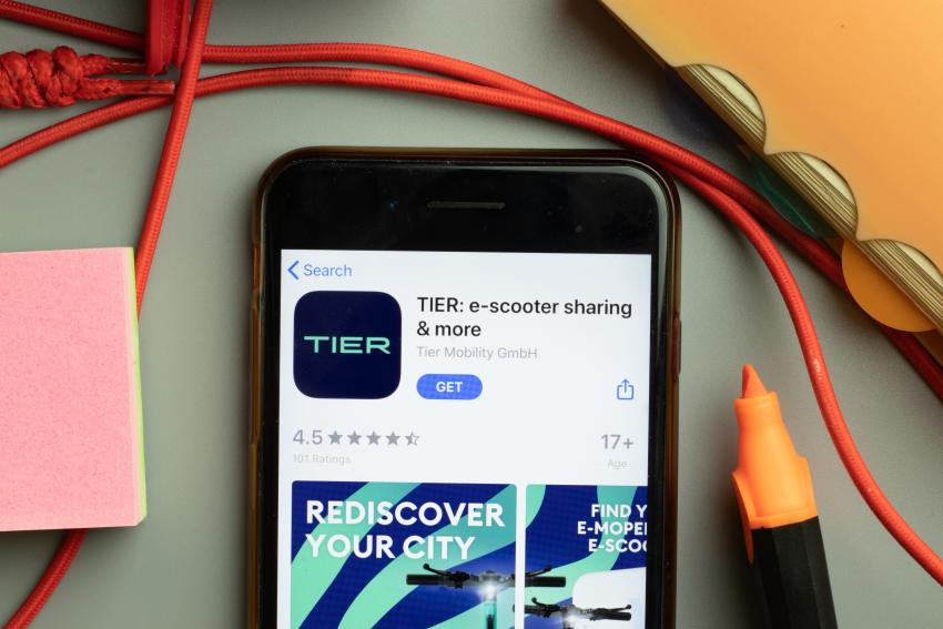 eScooter provider TIER collaborates with industry partners in Ireland