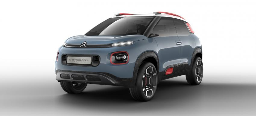 citro n to reveal compact suv c3 aircross fleet europe. Black Bedroom Furniture Sets. Home Design Ideas