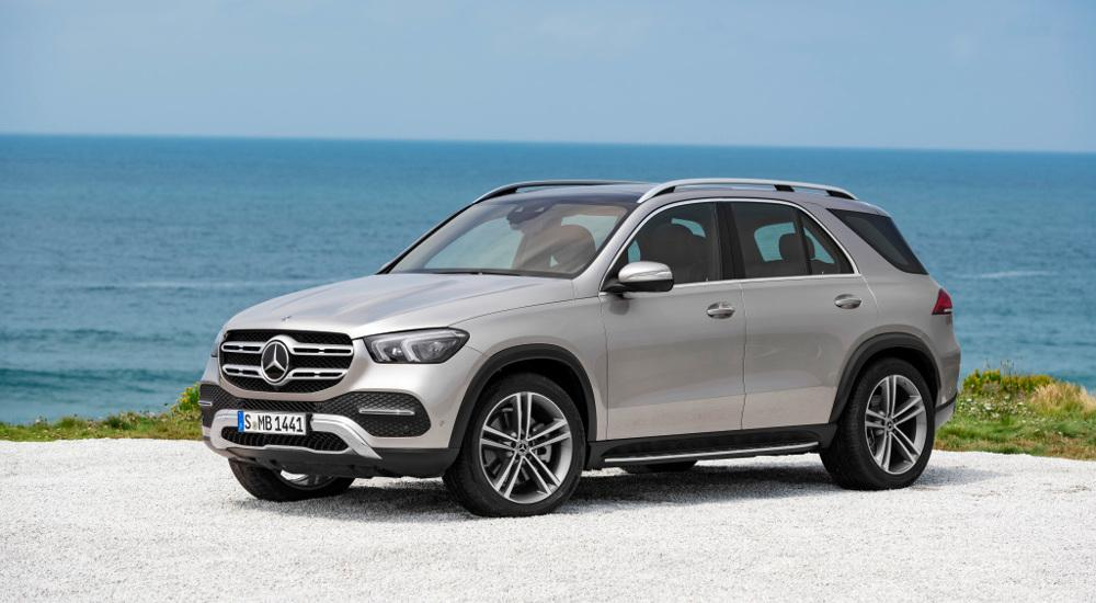 mercedes benz gle better looks still more tech fleet europe. Black Bedroom Furniture Sets. Home Design Ideas