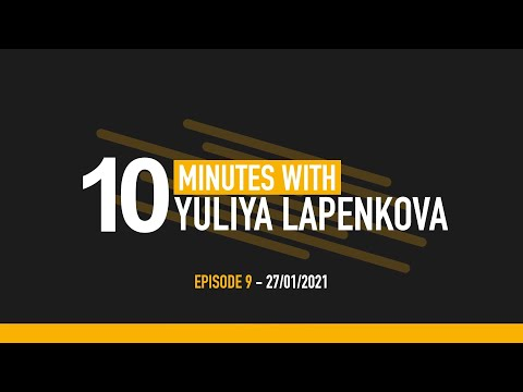 Embedded thumbnail for Video podcast: 10 minutes with Yuliya Lapenkova, Danone