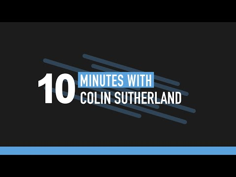 """Embedded thumbnail for Video podcast: 10 minutes with Colin Sutherland, Geotab: """"One subscription isn't where it ends"""""""